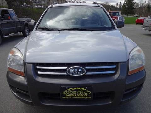 2006 Kia Sportage for sale at MOUNTAIN VIEW AUTO in Lyndonville VT