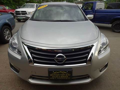 2014 Nissan Altima for sale in Lyndonville, VT