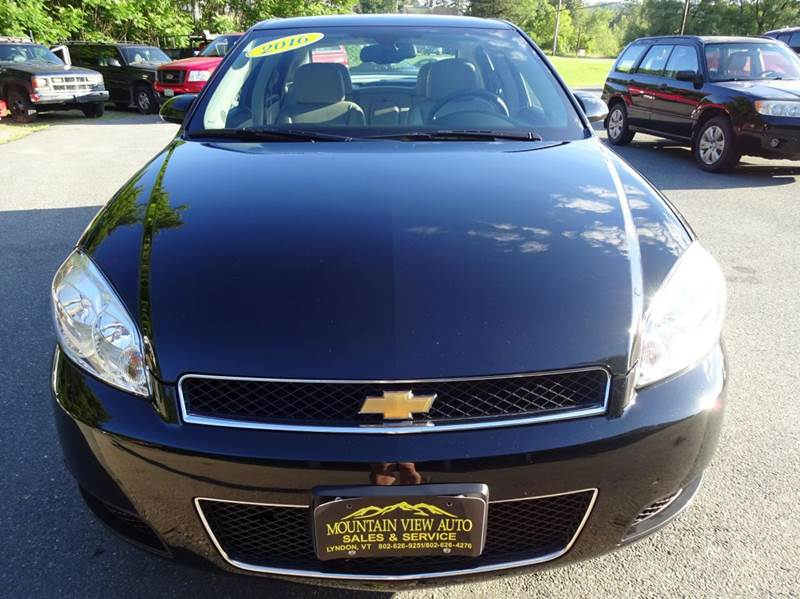 2016 Chevrolet Impala Limited for sale at MOUNTAIN VIEW AUTO in Lyndonville VT
