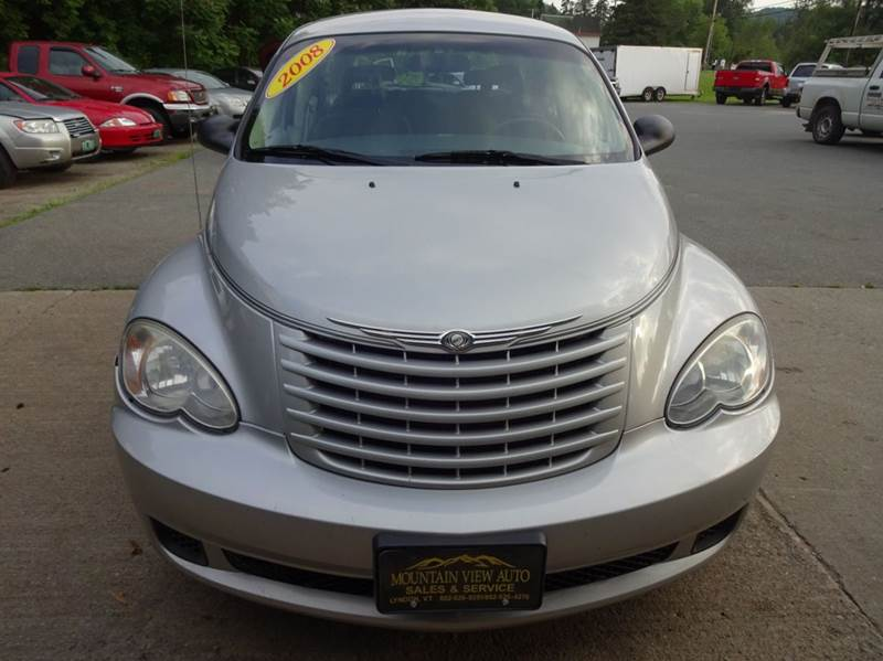 2008 Chrysler PT Cruiser for sale at MOUNTAIN VIEW AUTO in Lyndonville VT