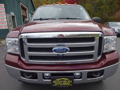 2005 Ford F-250 Super Duty for sale in Lyndonville, VT