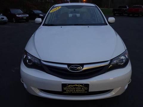 2011 Subaru Impreza for sale in Lyndonville, VT