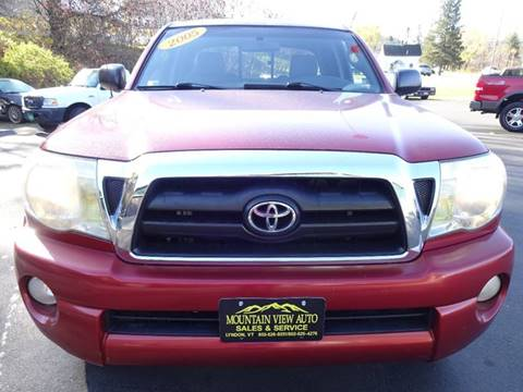 2005 Toyota Tacoma for sale in Lyndonville, VT