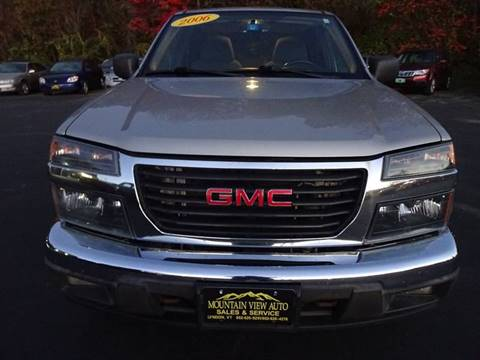 2006 GMC Canyon for sale in Lyndonville, VT