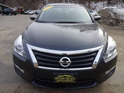 2015 Nissan Altima for sale at MOUNTAIN VIEW AUTO in Lyndonville VT