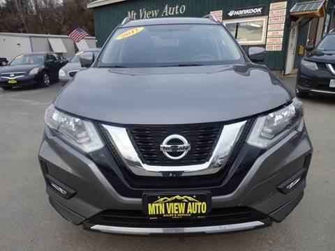 2017 Nissan Rogue SV for sale at MOUNTAIN VIEW AUTO in Lyndonville VT