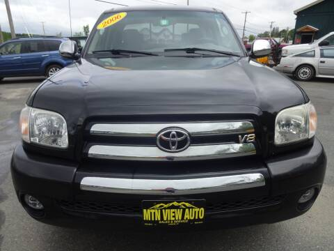 2006 Toyota Tundra SR5 for sale at MOUNTAIN VIEW AUTO in Lyndonville VT