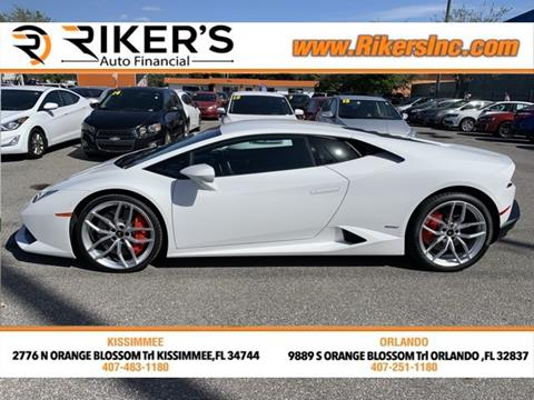 Used Lamborghini For Sale In Florida Carsforsale Com