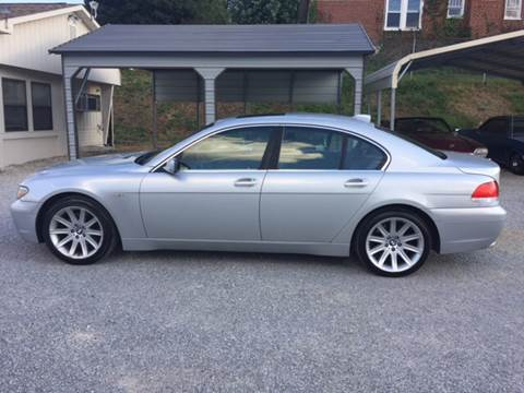 2003 BMW 7 Series for sale in Roanoke, VA
