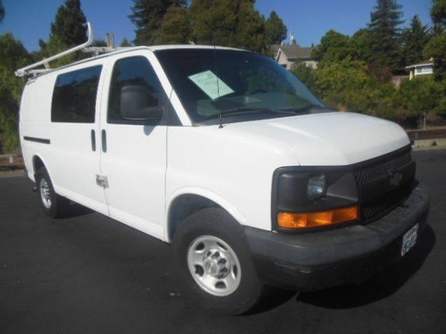2007 Chevrolet Express Cargo Contractor PKG Van