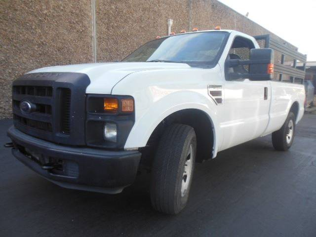 2008 ford f-250 super duty stake side with tommy llift in san
