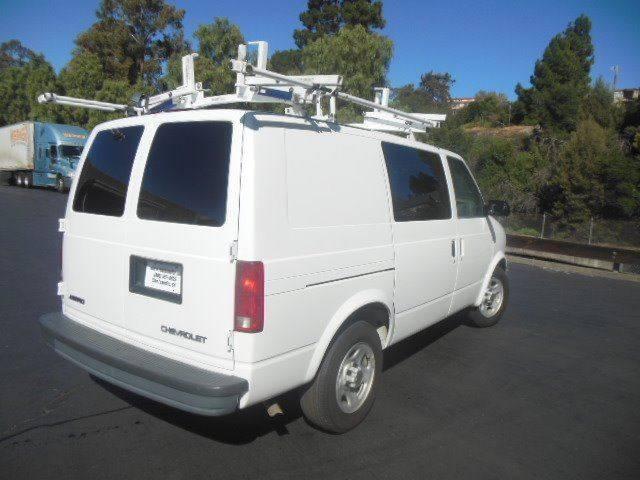 2005 Chevrolet Astro Cargo Contractors Cargo Van In San Leandro CA