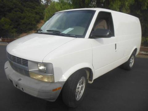 2004 Chevrolet Astro Cargo for sale in San Leandro, CA