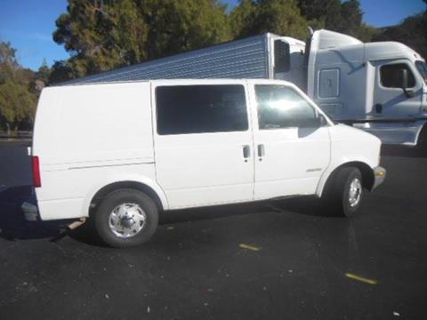 2000 Chevrolet Astro Cargo for sale in San Leandro, CA