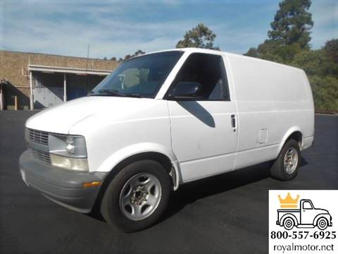2003 Chevrolet Astro Cargo for sale in San Leandro, CA