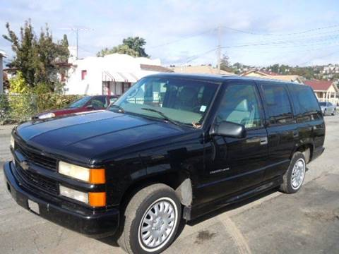 2000 Chevrolet Tahoe Limited/Z71 for sale in San Leandro, CA