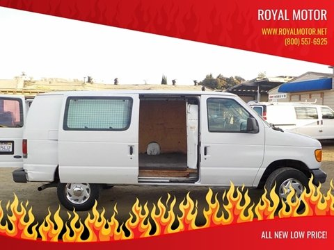 2006 Ford E-Series Cargo E-350 SD for sale at Royal Motor in San Leandro CA