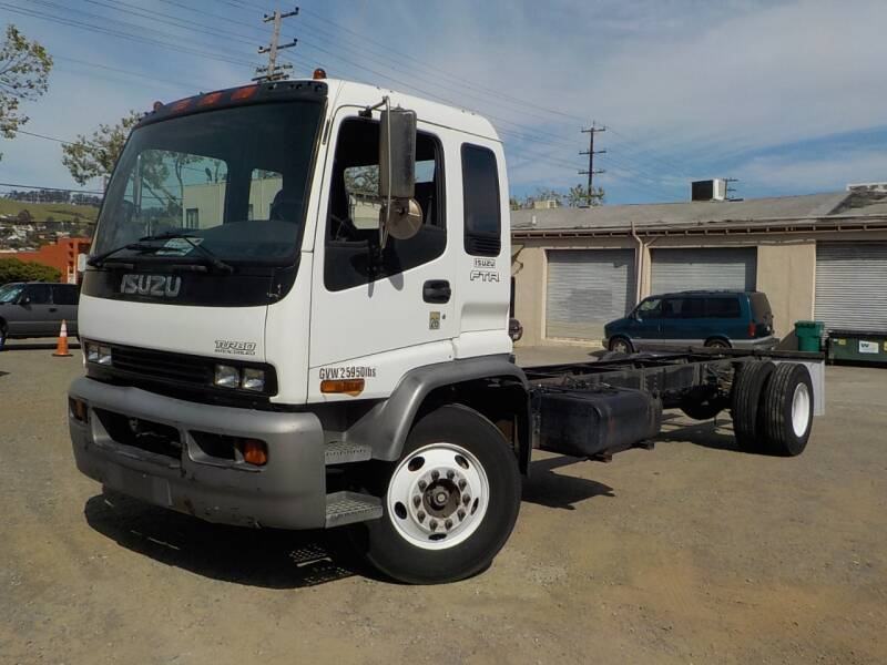 2002 Isuzu FTR for sale at Royal Motor in San Leandro CA