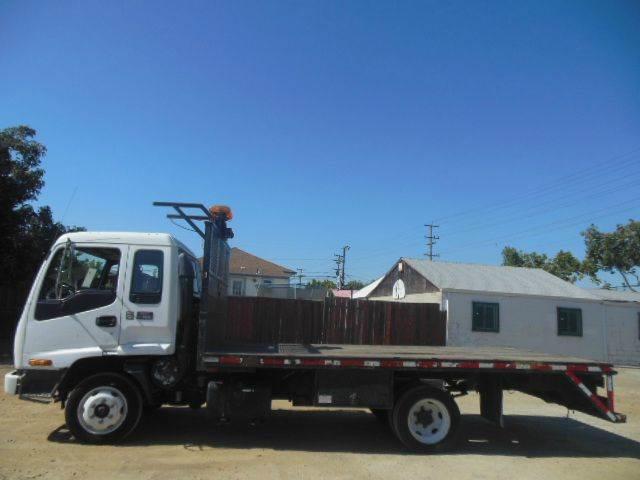 2001 GMC WT5500 16ft Flat Bed Truck #327 - San Leandro CA