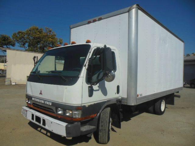 2001 Mitsubishi Fuso 16ft Box Truck #334 - San Leandro CA