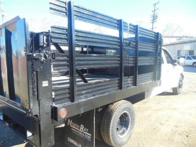2003 Ford F-350 Super Duty Crew Cab Stake Bed Truck W/Lift #341 - San Leandro CA