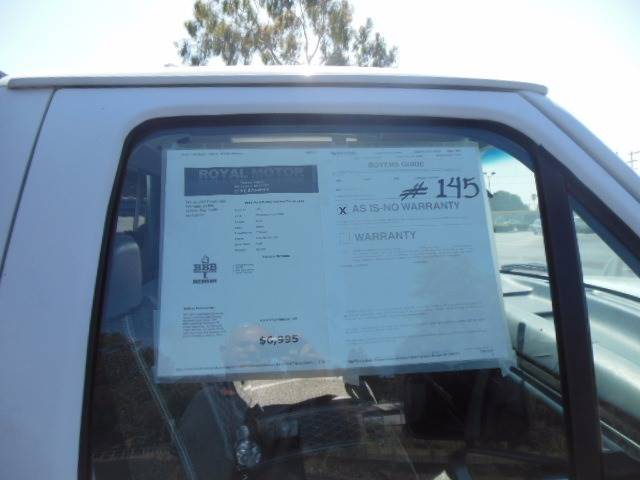 1996 Ford F-250 2dr XL Standard Cab LB HD - San Leandro CA