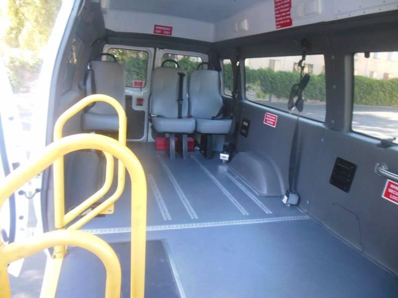 2008 Ford E-Series Cargo Wheelchair Handy cab Van - San Leandro CA
