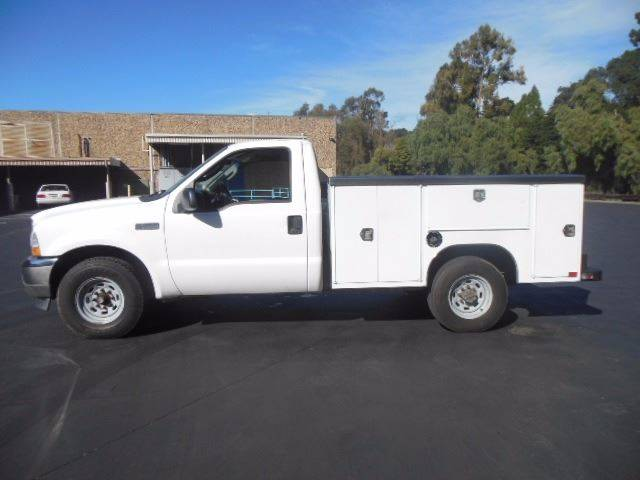 2004 Ford F-250 Utility Service Truck  W/Lift - San Leandro CA