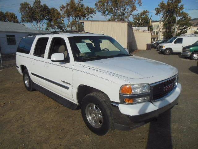 2002 GMC Yukon XL 1500 SLT 4WD 4dr SUV - San Leandro CA
