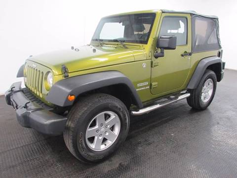 2010 Jeep Wrangler for sale at Automotive Connection in Fairfield OH