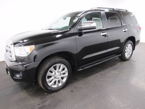 2010 Toyota Sequoia for sale at Automotive Connection in Fairfield OH
