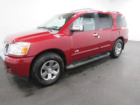 2006 Nissan Armada for sale at Automotive Connection in Fairfield OH