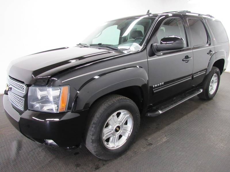 2011 chevrolet tahoe 4x4 lt 4dr suv in fairfield oh automotive connection. Black Bedroom Furniture Sets. Home Design Ideas