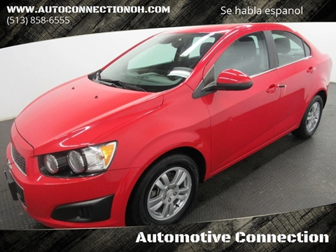 2016 Chevrolet Sonic for sale at Automotive Connection in Fairfield OH