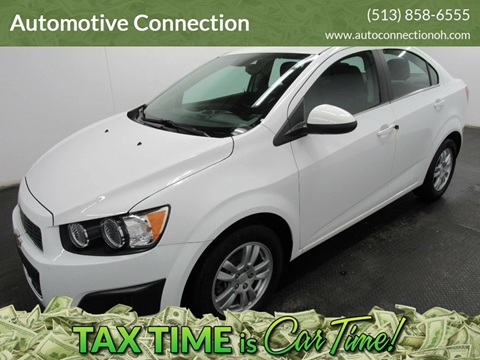 2013 Chevrolet Sonic for sale at Automotive Connection in Fairfield OH