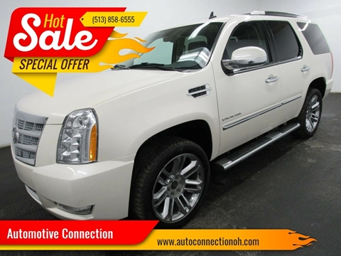 2011 Cadillac Escalade for sale at Automotive Connection in Fairfield OH