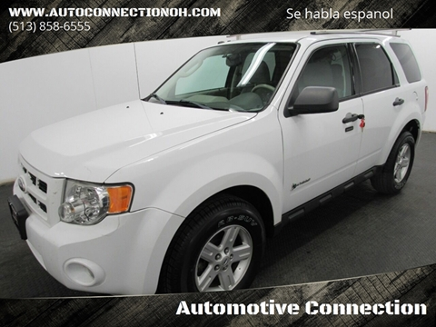 Ford Escape Hybrid For Sale >> Used Ford Escape Hybrid For Sale In Ohio Carsforsale Com