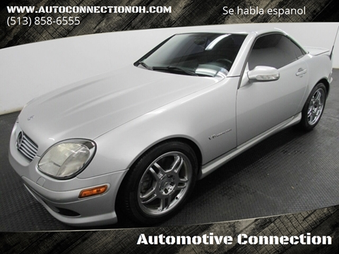 2003 Mercedes-Benz SLK for sale at Automotive Connection in Fairfield OH