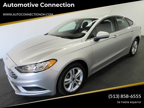 2018 Ford Fusion Hybrid for sale at Automotive Connection in Fairfield OH