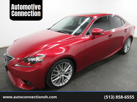 2014 Lexus IS 250 for sale at Automotive Connection in Fairfield OH