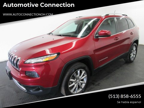 2017 Jeep Cherokee for sale at Automotive Connection in Fairfield OH