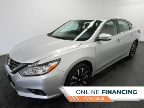 2018 Nissan Altima for sale at Automotive Connection in Fairfield OH
