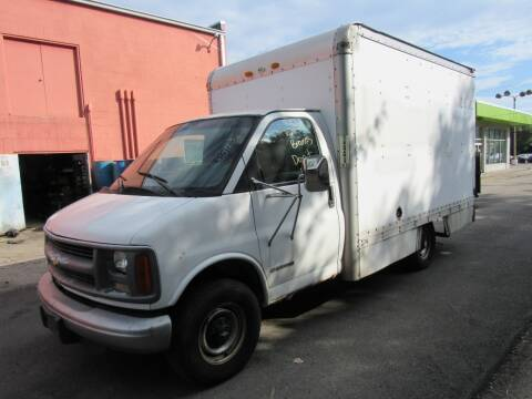 2002 Chevrolet Express Cutaway for sale at Automotive Connection in Fairfield OH
