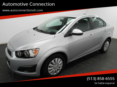 2015 Chevrolet Sonic for sale at Automotive Connection in Fairfield OH