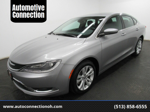 2015 Chrysler 200 for sale at Automotive Connection in Fairfield OH