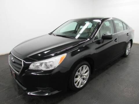 2017 Subaru Legacy for sale at Automotive Connection in Fairfield OH