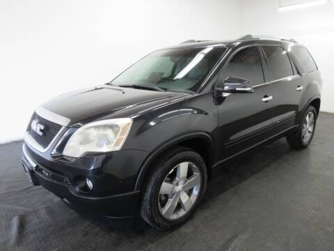 2010 GMC Acadia for sale at Automotive Connection in Fairfield OH