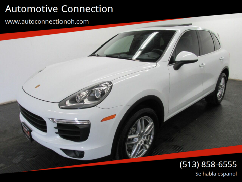 2016 Porsche Cayenne for sale at Automotive Connection in Fairfield OH