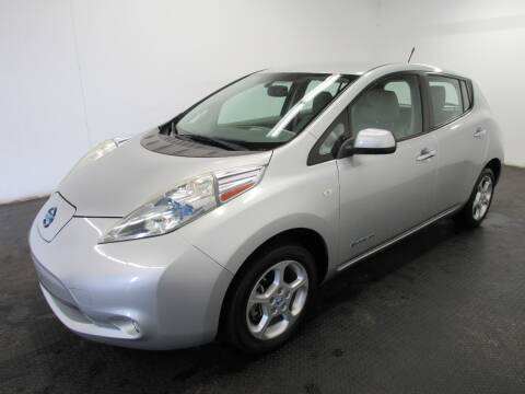 2011 Nissan LEAF for sale at Automotive Connection in Fairfield OH