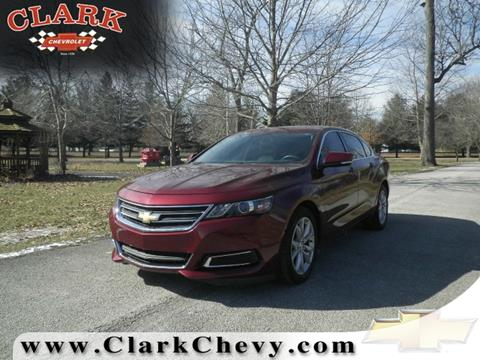 2016 Chevrolet Impala for sale at Clark Chevrolet Sales Inc in Cayuga IN